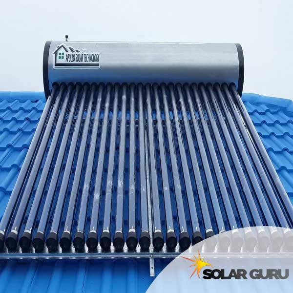 200 Liter Integrated High-Pressure Apollo Solar Geyser