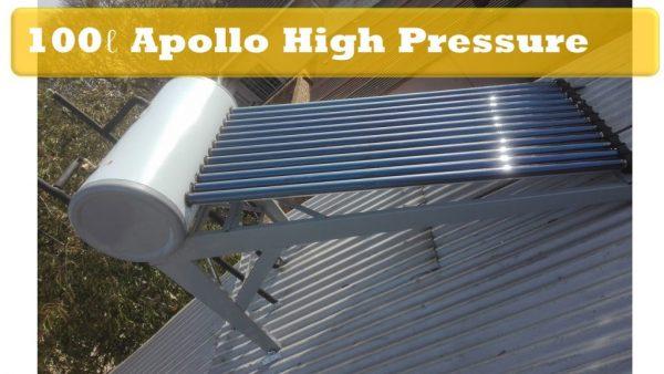 Solar Guru-100ℓ High Pressure Apollo Solar Geyser2