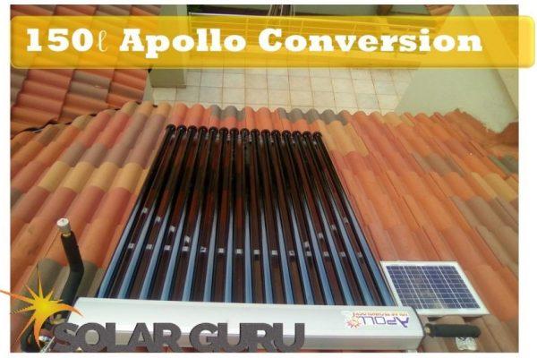 Solar Guru-150ℓ Apollo Conversion – Convert Existing Geyser to Solar 2