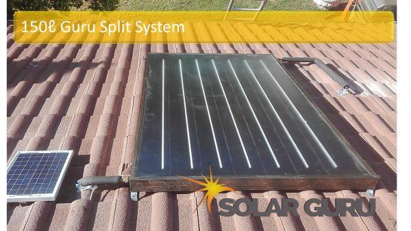 Solar Guru-150L Guru Split Solar Geyser1