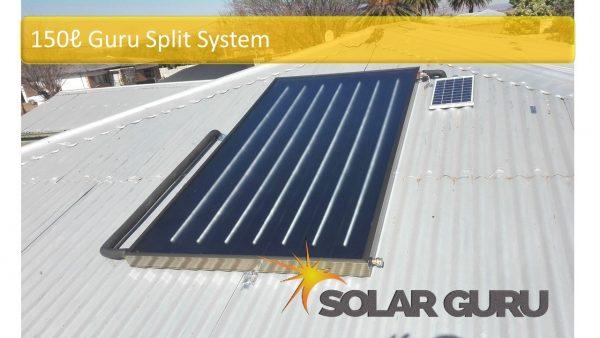 Solar Guru-150L Guru Split Solar Geyser2