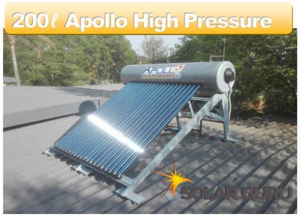 Solar Guru-200ℓ High Pressure Apollo Solar Geyser2