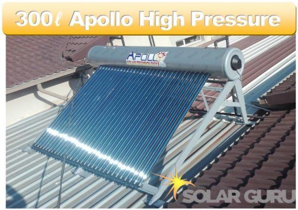 Solar Guru-300ℓ High Pressure Apollo Solar Geyser2