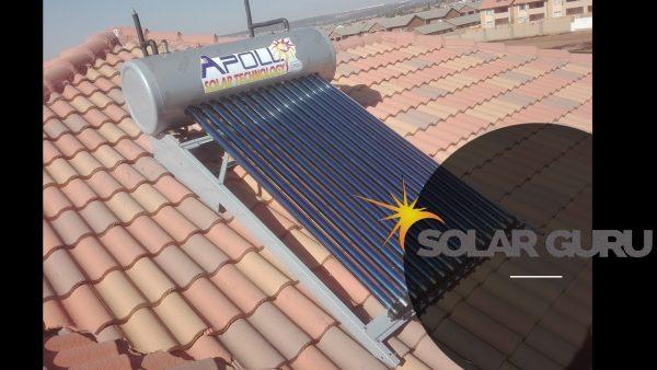 Solar Guru-Solar Geysers-150l Apollo HP-150l High Pressure Apollo Solar Geyser