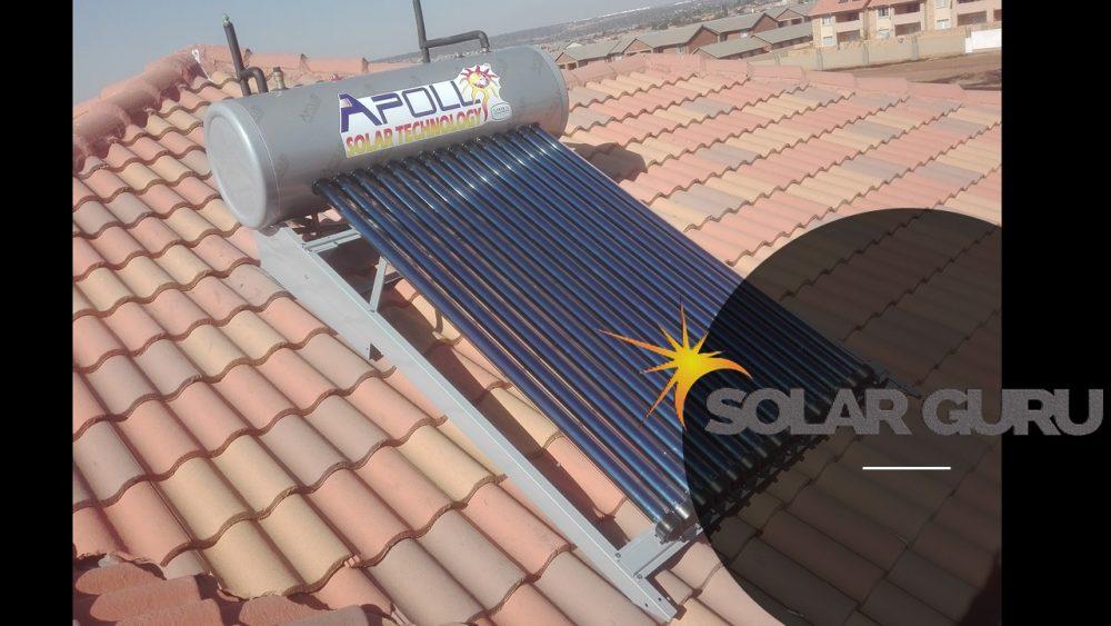 150ℓ High Pressure Apollo Solar Geyser ⋆ Solar Guru