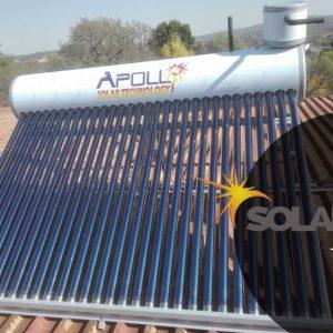 300ℓ High Pressure Apollo Coiler Solar Geyser