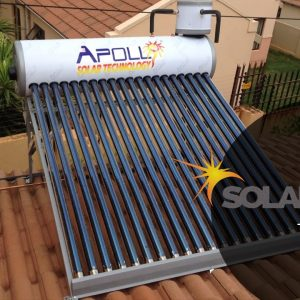 200ℓ High Pressure Apollo Coiler Solar Geyser