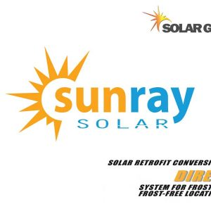 Solar Guru Sunray Solar Direct Logo