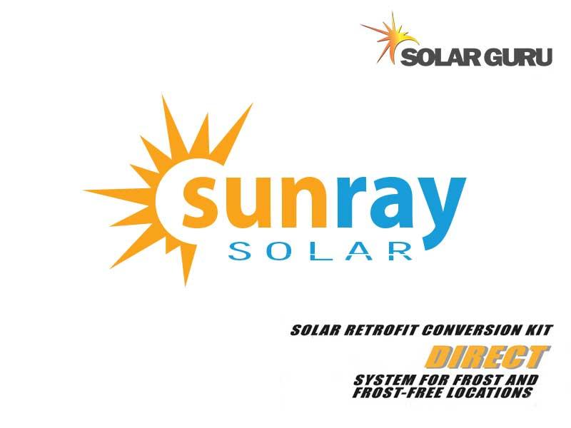 Solar Guru Sunray Solar Direct Logo