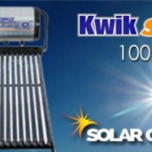 100 Liter Kwiksol High Pressure Solar geyser