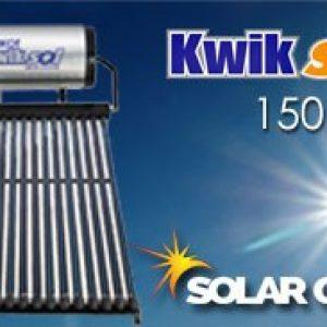 150 Liter Kwiksol High Pressure Solar geyser