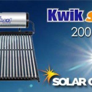 200 Liter Kwiksol High Pressure Solar Geyser
