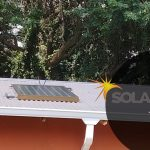 Sink roof, flat panel, solar geyser