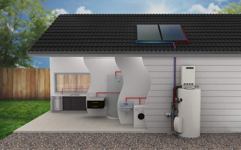 How solar geysers work in homes