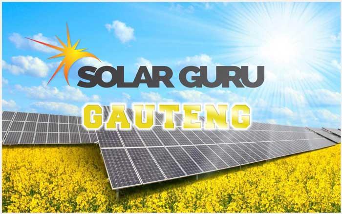 Solar Geysers Gauteng, solar panels under sun by Solar Guru