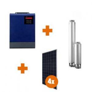 0.55 Kw Borehole Controller Combo Kit