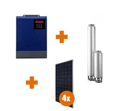 0.55Kw Borehole Controller Combo