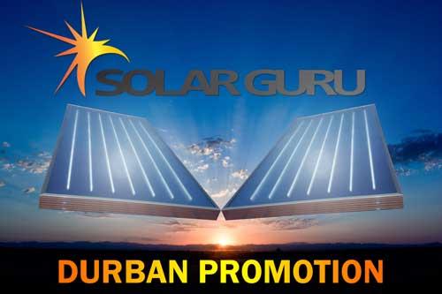 Flat Panel Solar Geyser Durban Promotion