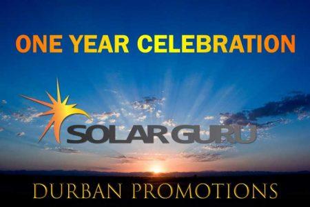 Solar Geyser Durban Promotion One Year Celebration