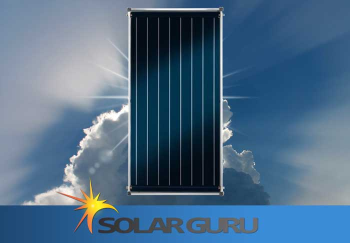 Flat Panel Solar Geyser Conversion