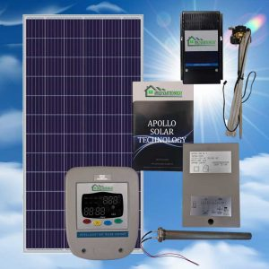 200 Liter PV Apollo solar hot water system