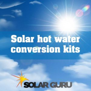 Apollo PV hot water solar kits