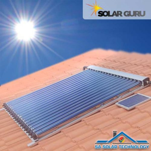 SA Solar Technology 18 Tube Solar Collector