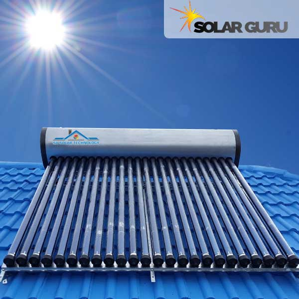 SA Solar Technology 300 Liter Integrated High Pressure Solar Geyser