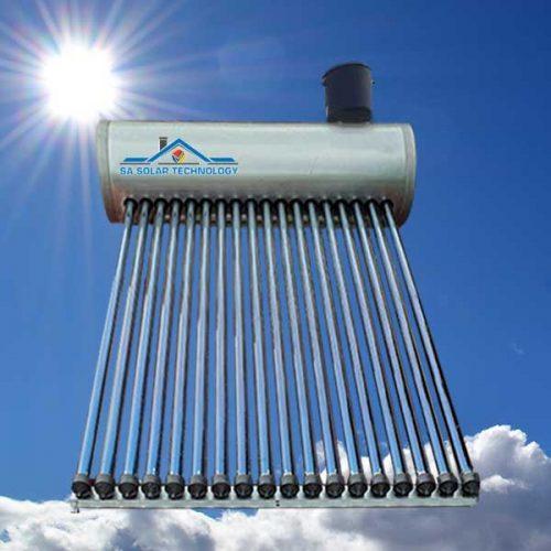 SA Solar Technology 150 Liter Low Pressure Solar Geyser