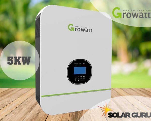 Solar Guru 5KW 48V Growatt Hybrid Off-Grid Inverter