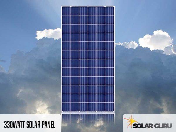 330Watt Solar Panel Product By Solar Guru