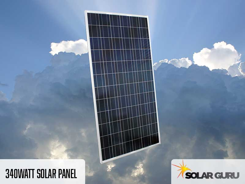 340 Watt Solar Panel Products Solar Guru
