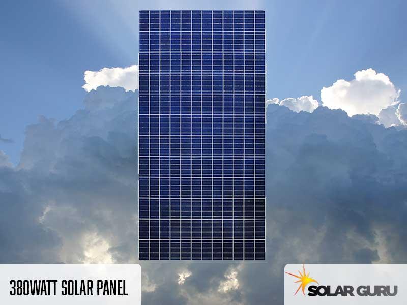 380 Watt Solar Panel Products Solar Guru