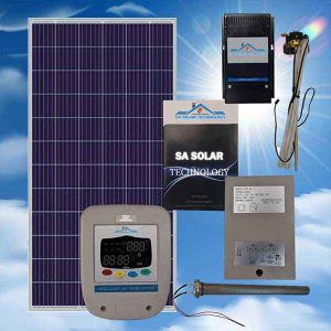 200 Liter PV SA solar  hot water system