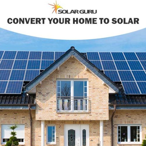 Convert your house to solar