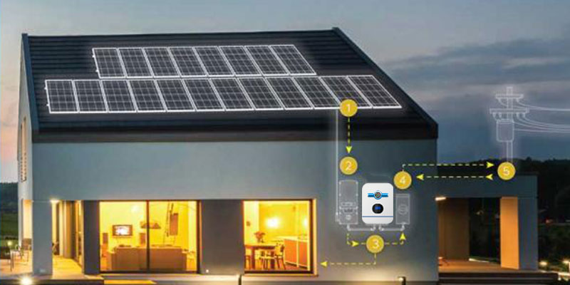 SA 5kw 24 Hours Solar Home Conversion