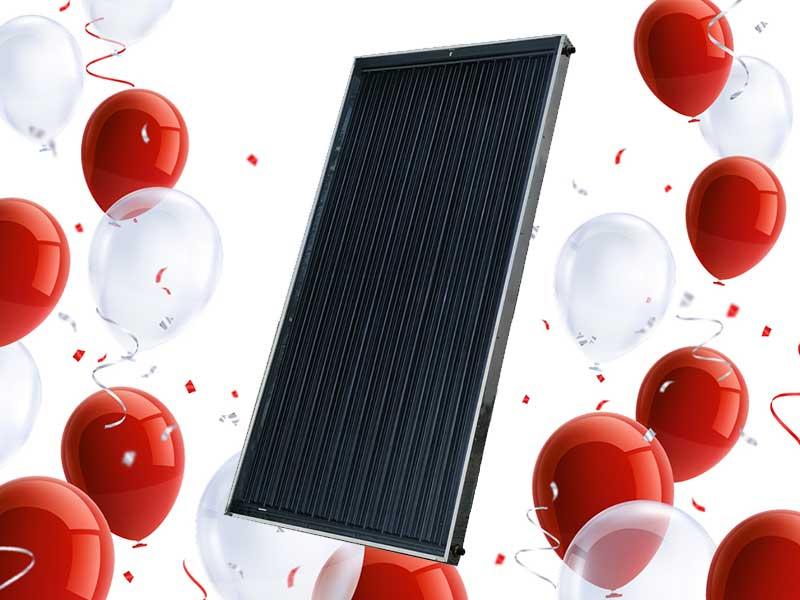 Flat Panel Solar Geyser Conversion