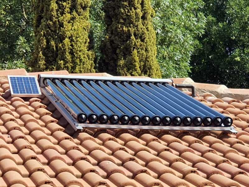 15 tube Solar collector